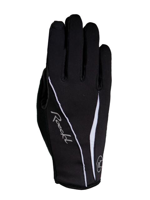 Roeckl Wanda Damen Handschuhe schwarz/weiß